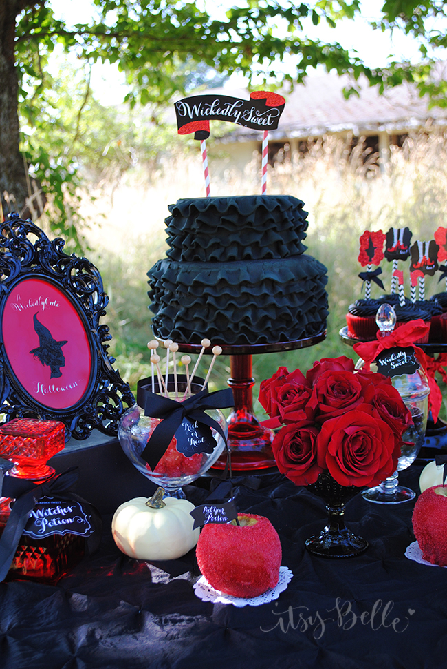 Kids Halloween Party Dessert Table