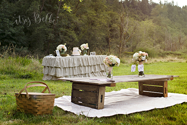 Rustic Picnic Wedding Ideas