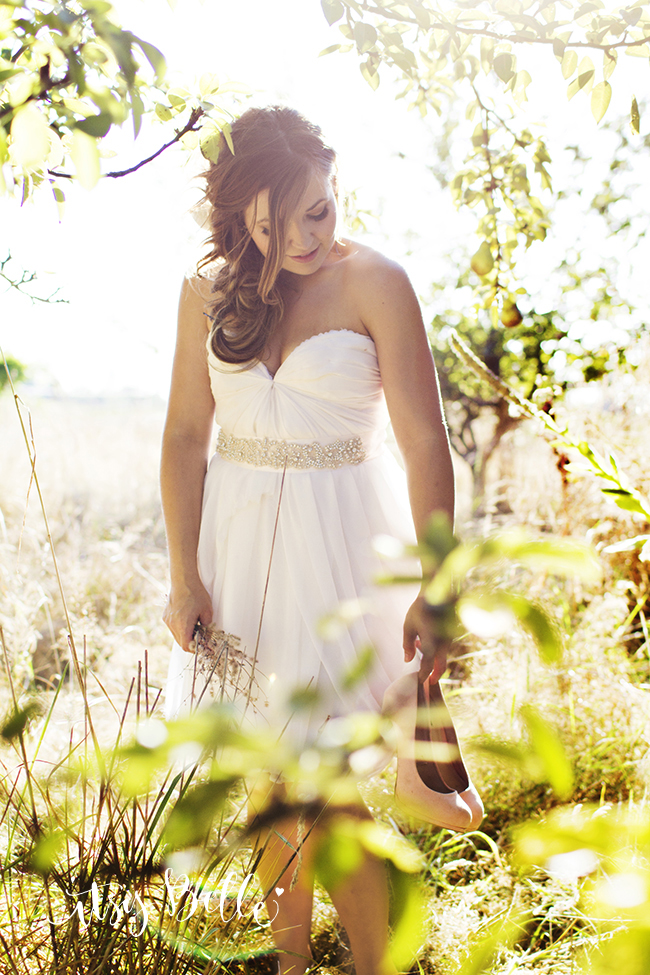 Bridal Portrait rustic wedding ideas