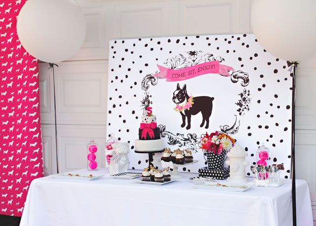 Puppy Theme Birthday party
