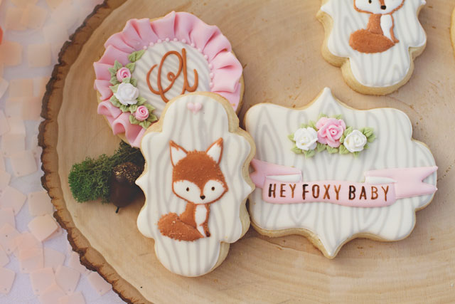 hey foxy baby girly fox baby shower theme itsy belleitsy belle