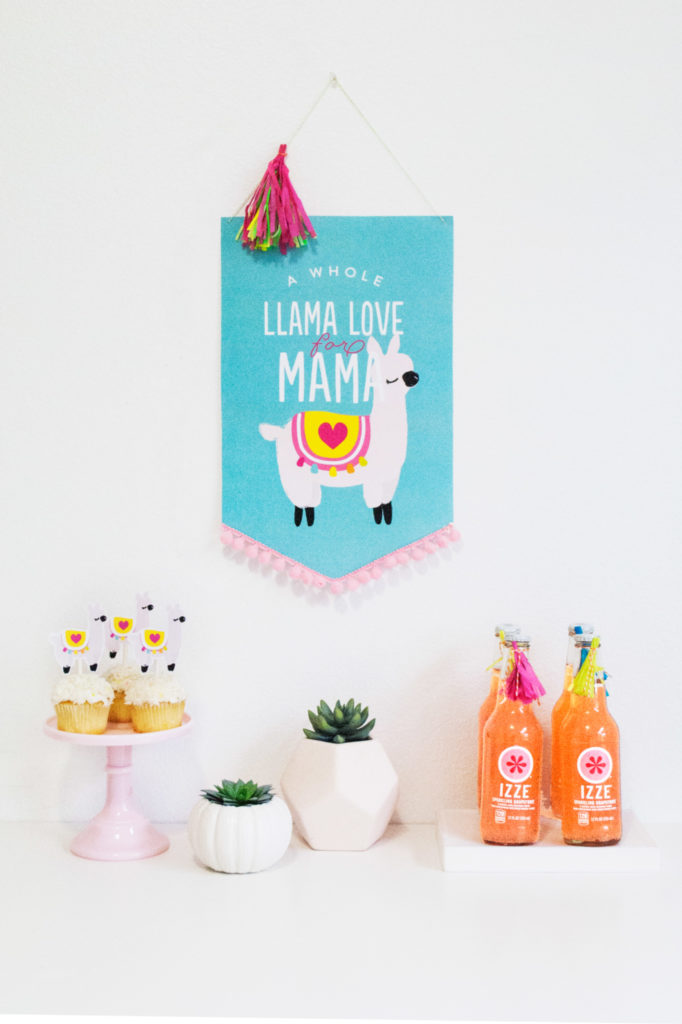 Llama Love for Mama Mothers Day Printables