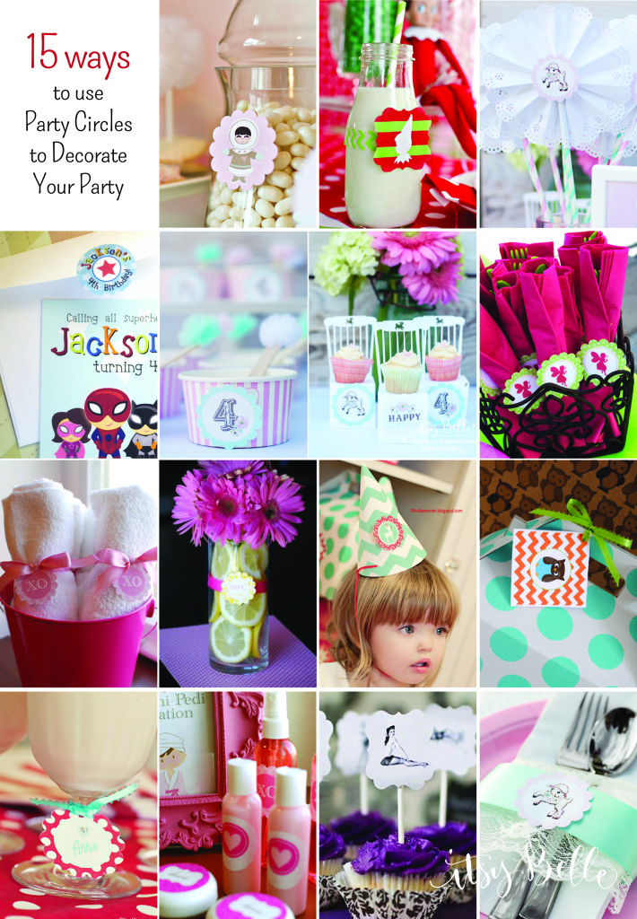 Diy Party On A Budget 15 Ideas For Using Party Circles