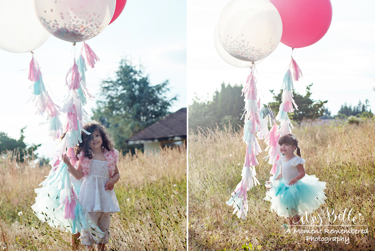Girls Birthday Party Ideas Tassel Balloons