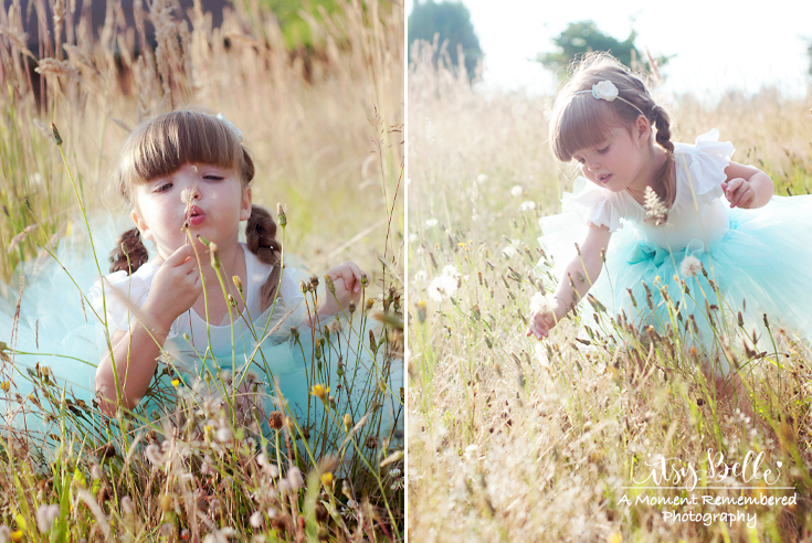 Girls Birthday Photography Idea