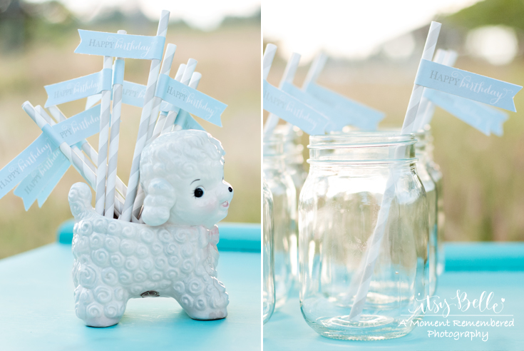 Vintage Little Lamb Party Table by Itsy Belle