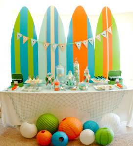 Surf's Up! – Surfing Kids Summer Party Ideas