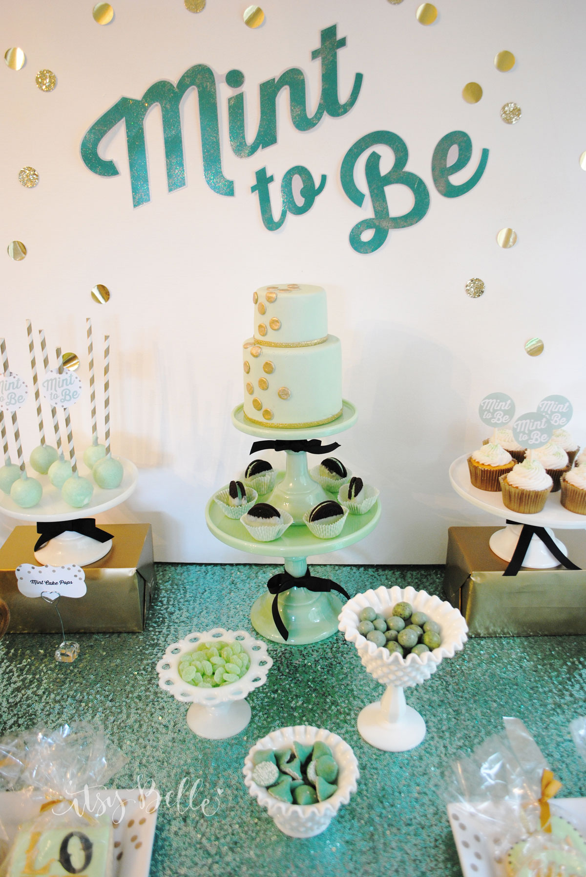 Mint To Be Dessert Table
