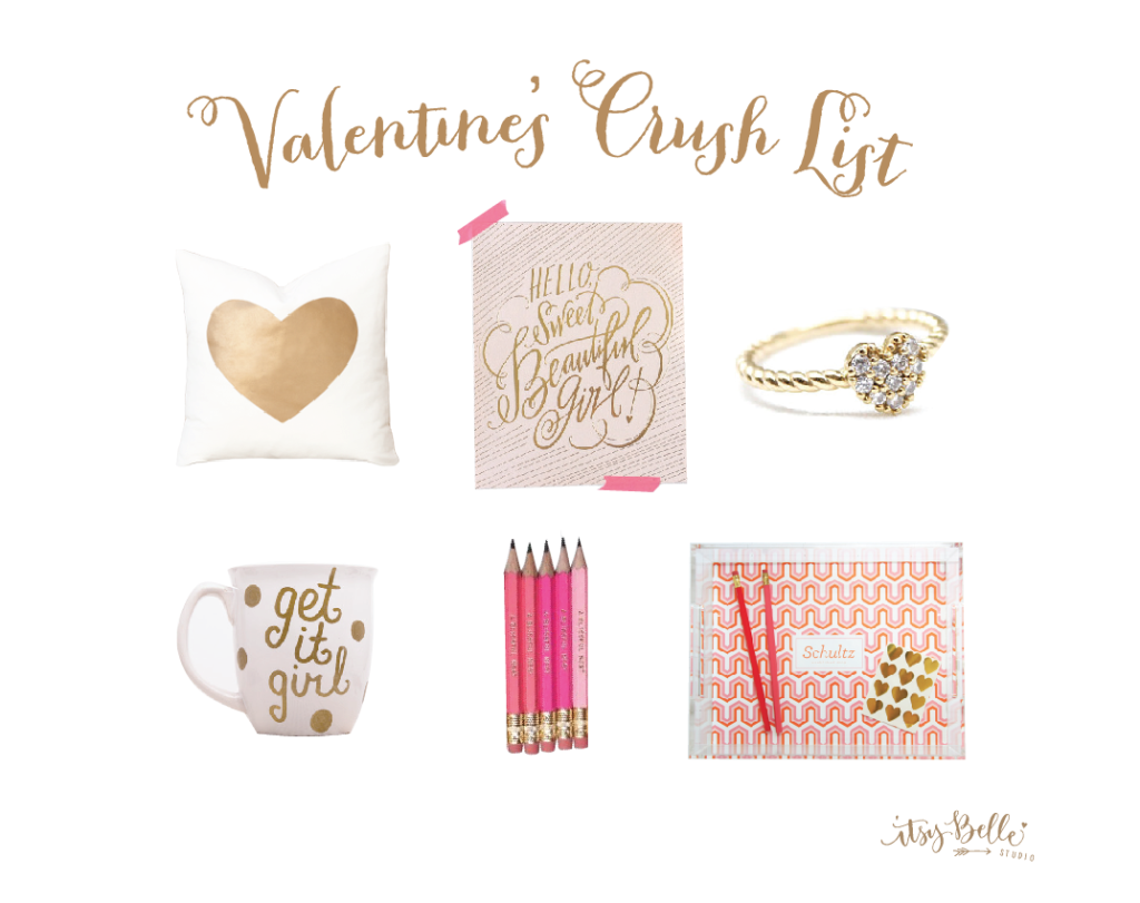 Our Valentine's Crush List: Gifts we'd love to get & give