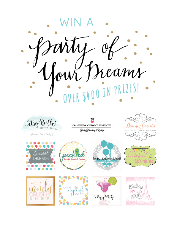 Itsy Belle's 3rd Anniversary Party of Your Dreams Giveaway!