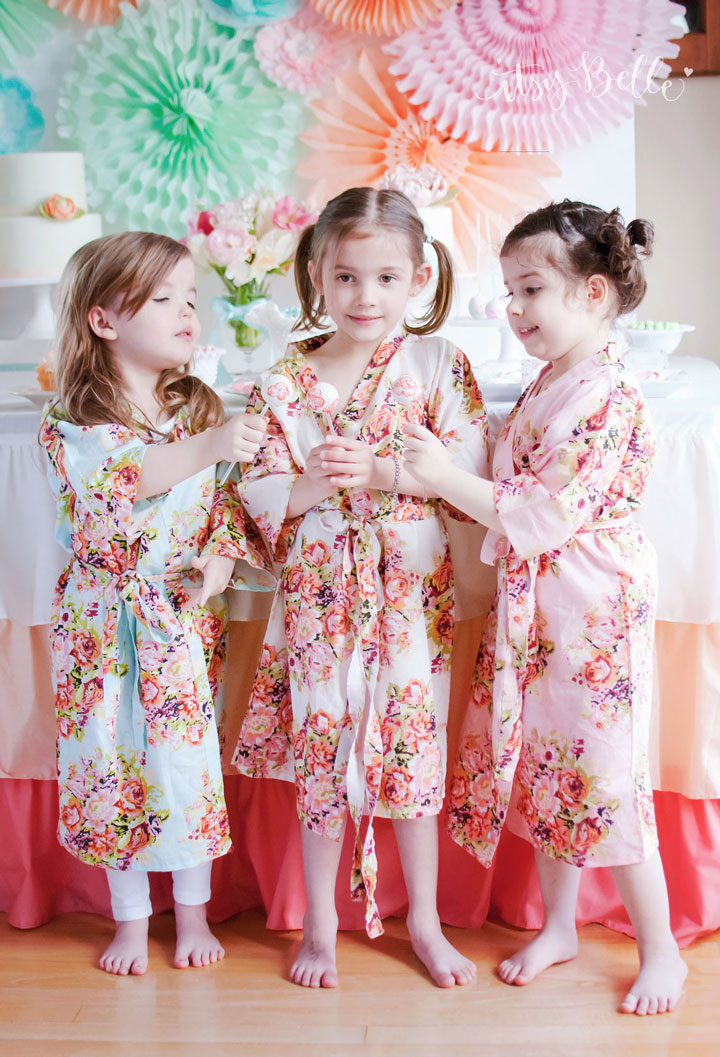 Flower Girl Robes
