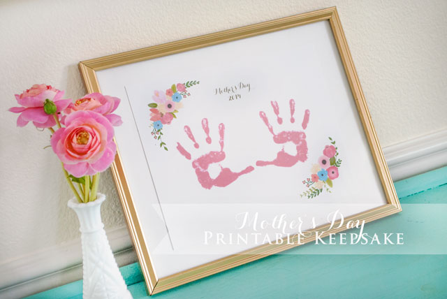 FREE Mother's Day Printable Keepsake