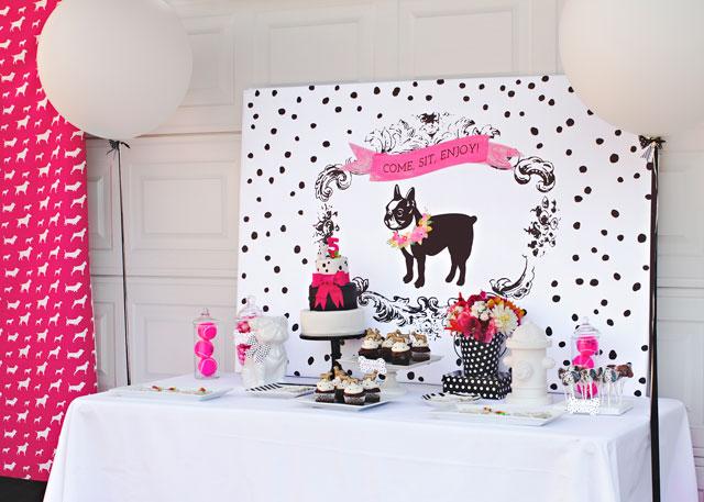 Puppy Theme Birthday party
