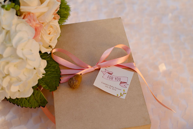 Fox Baby Shower Tags Gifts