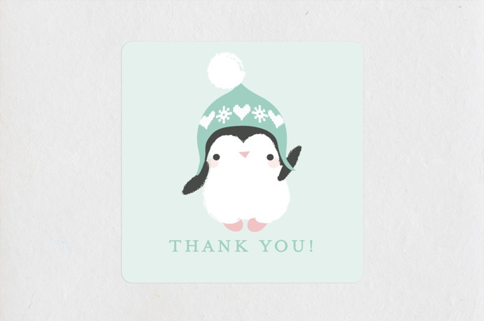 baby penguin stickers